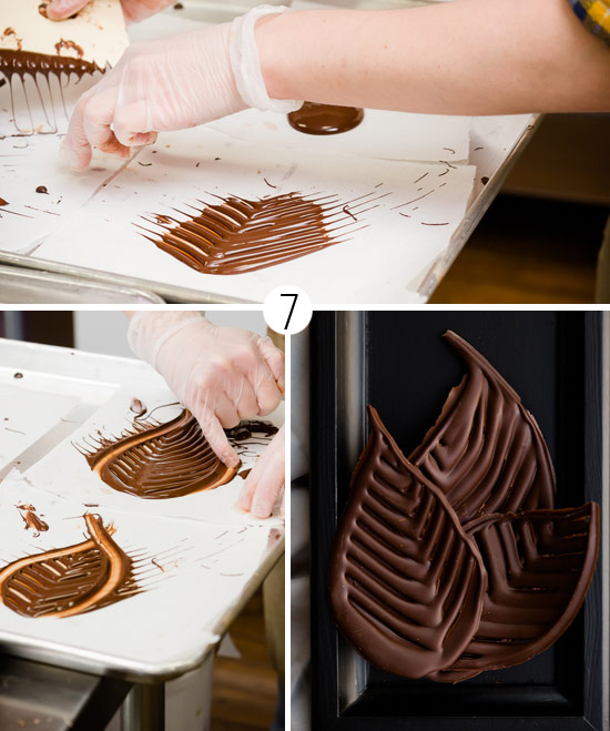Как сделать из шоколада фигуры для торта