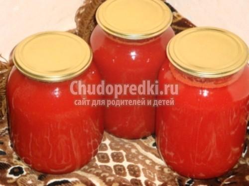 Томатный сок в домашних условиях из помидоров