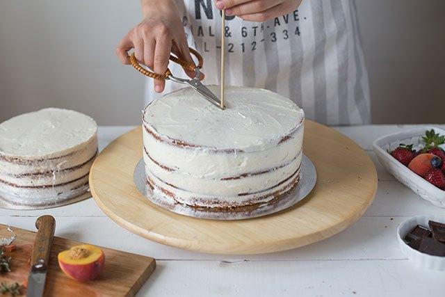 Двухъярусные торты в домашних условиях фото 367