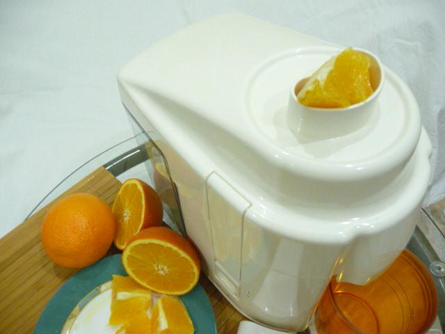 Сок апельсина в домашних условиях