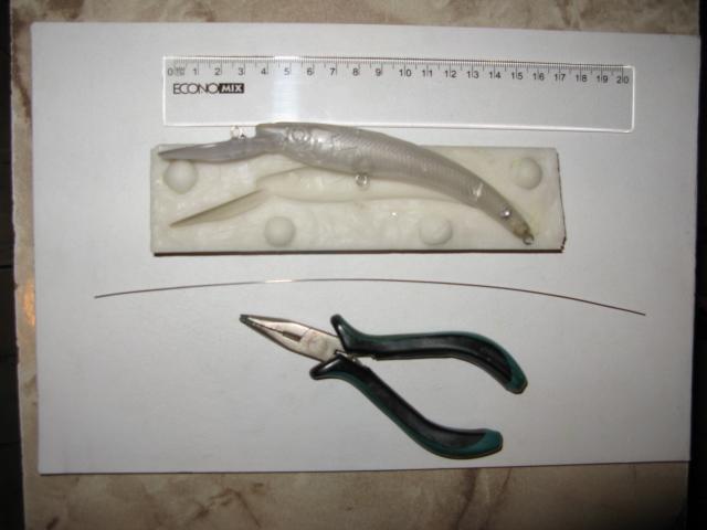 компоненты для изготовления силиконовых приманок