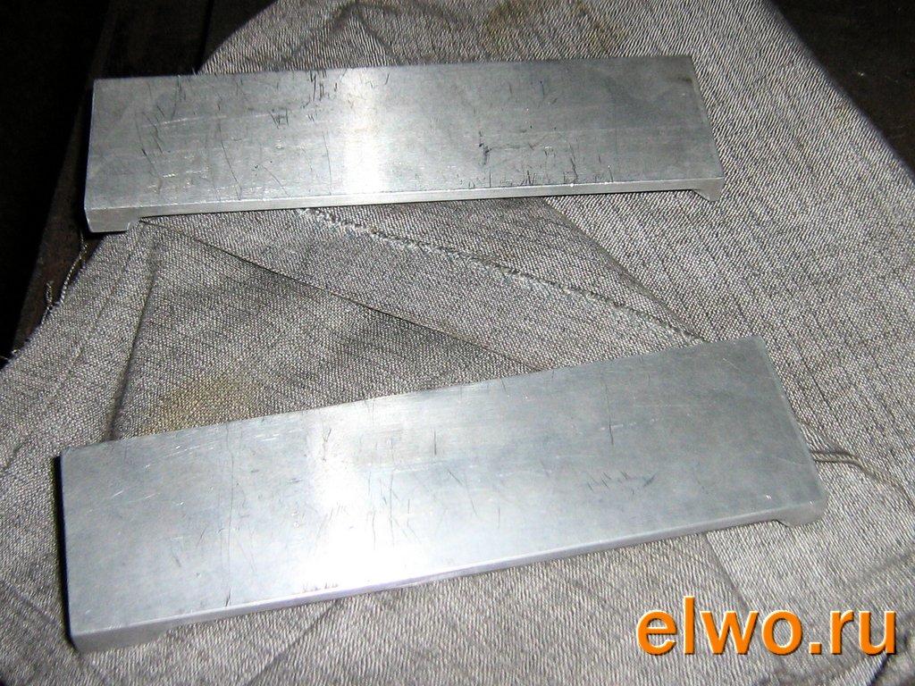 Как сделать форму свинца из алюминия