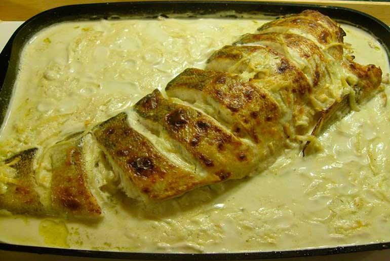 Запечённый судак в духовке рецепт с пошагово