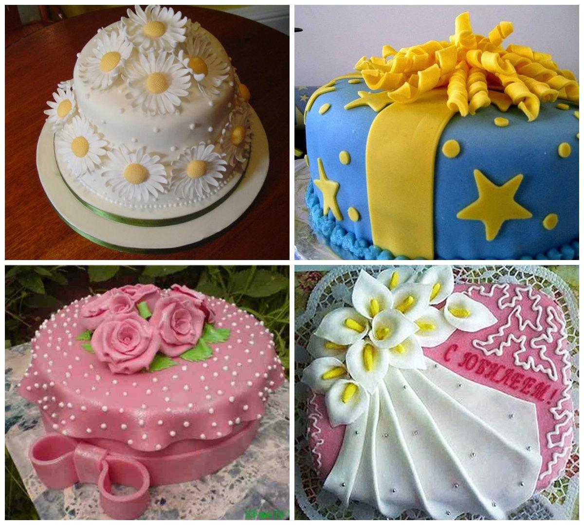 Как сделать украшение для тортов своими руками