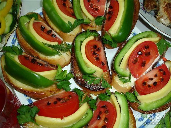 Бутерброды на праздничный стол детям рецепты