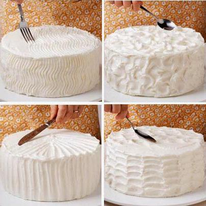 Как сделать торт из сливок в домашних условиях