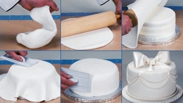 Как сделать мастику в домашних условиях с пошаговым фото